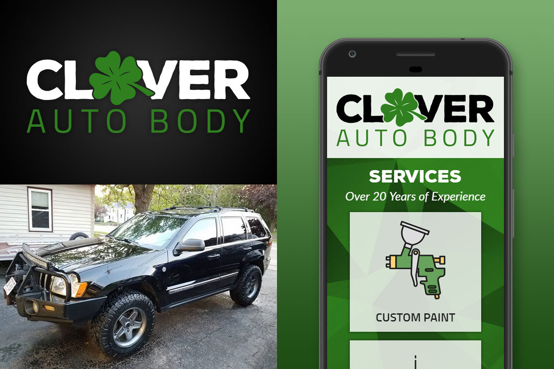 Clover Auto Body Work Showcase