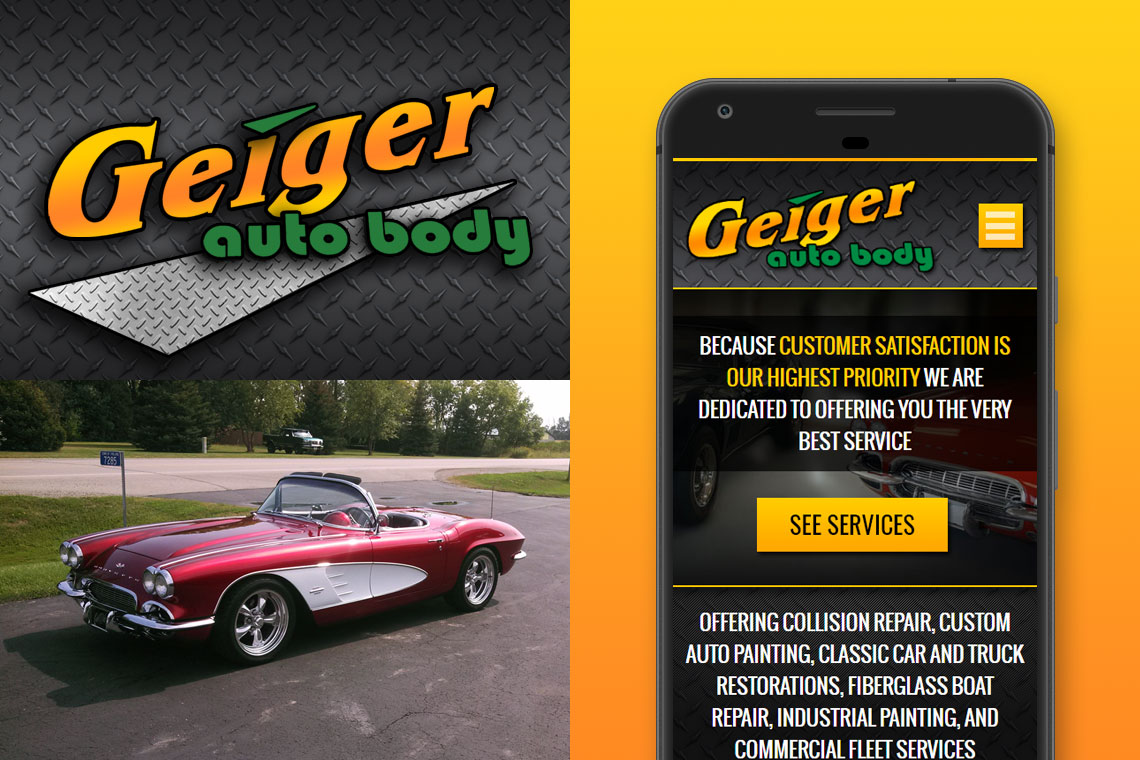 Geiger Auto Body Showcase